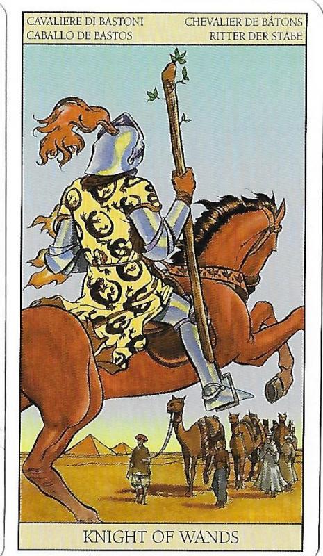 Cavalier de baton