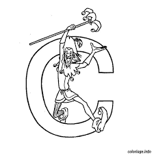 Lettre c 1